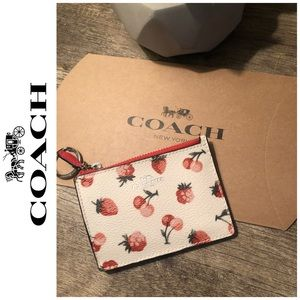 🆕Coach Keychain Mini id wallet